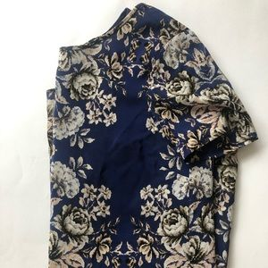 Gorgeous blue floral shift dress! Madewell Size M